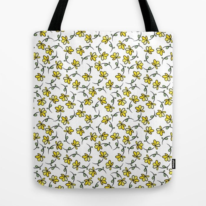 Too many flowers? Tote Bag