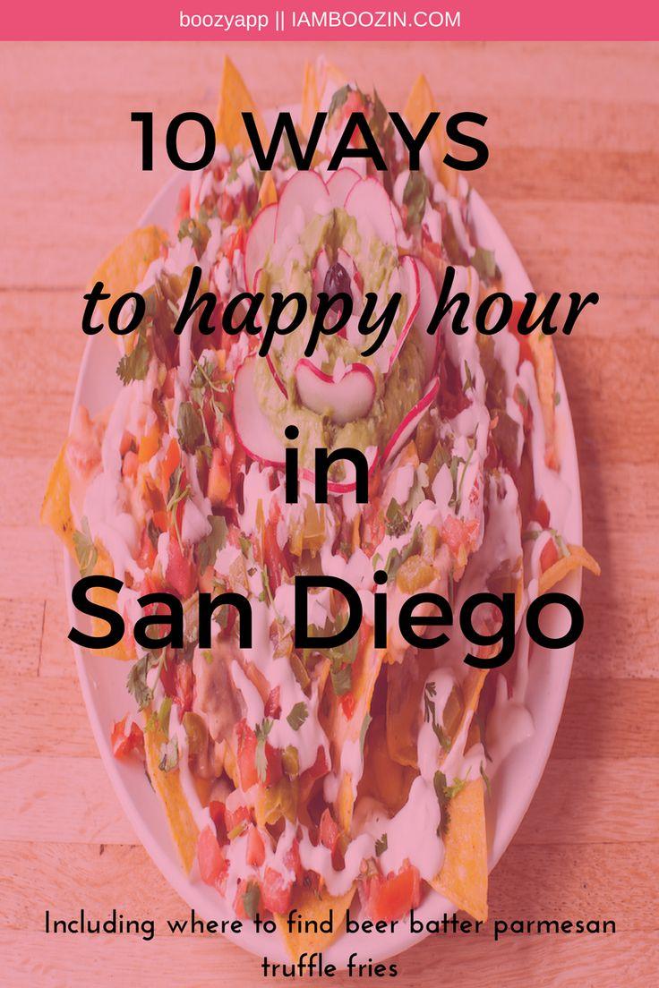 Happy hour san diego