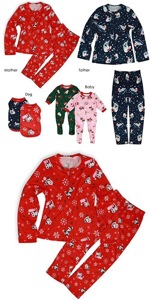 144282c24ee6 Ant-Kinds Christmas Mom Dad Baby Dogs Family Matching Christmas ...