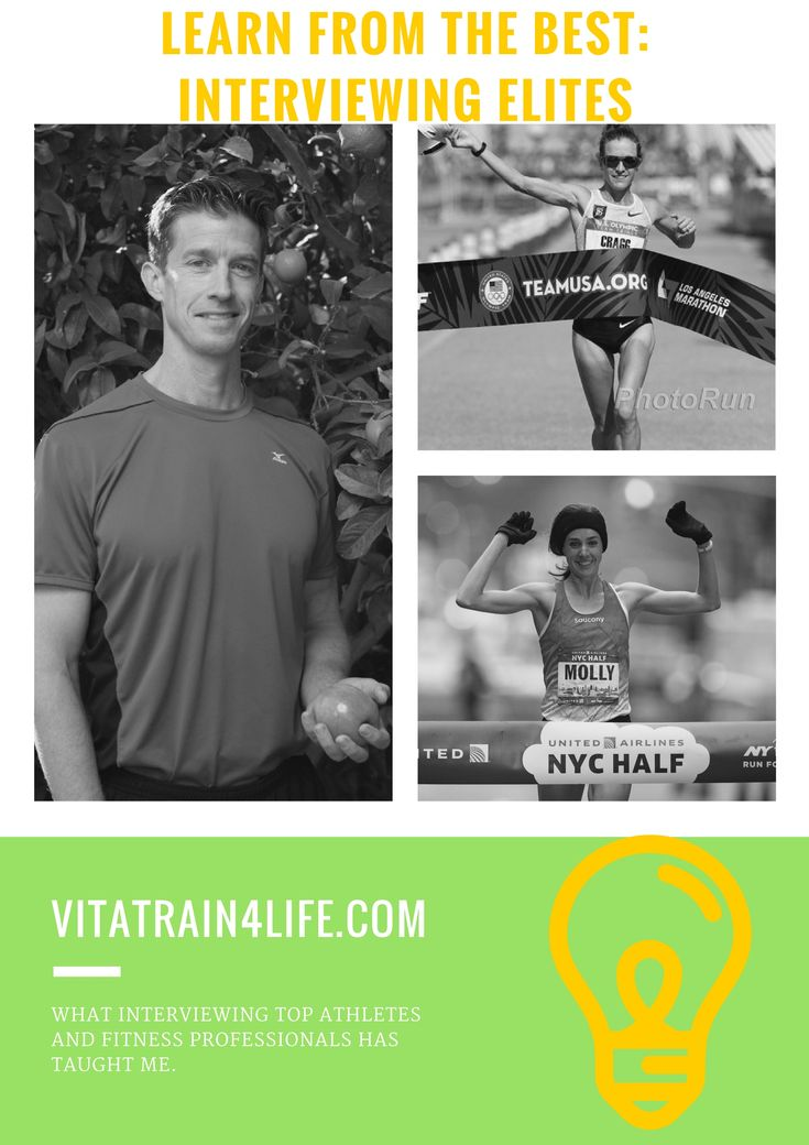 What I Learned Interviewing Amy Cragg, Molly Huddle and Matt Fitzgerald - VitaTrain4Life