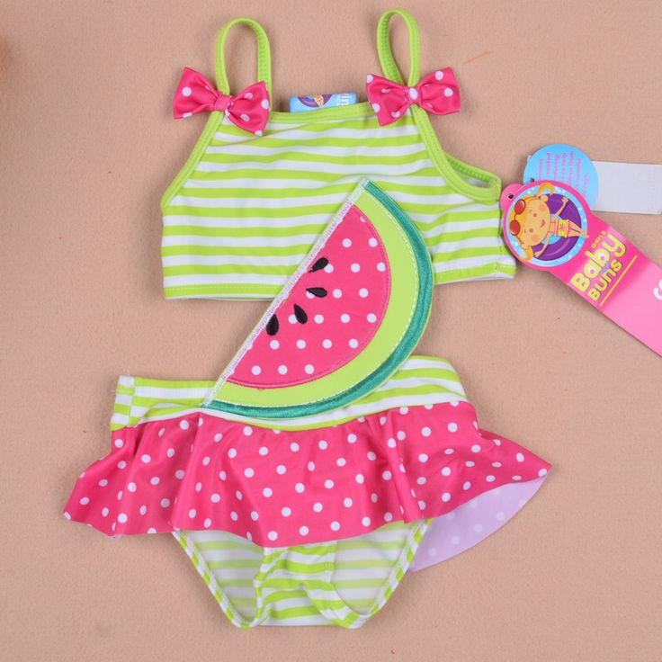Baby buns female child  children swimwear   kid swimsuit-inSwimwear from Apparel  Accessories on Aliexpress.com $13.00