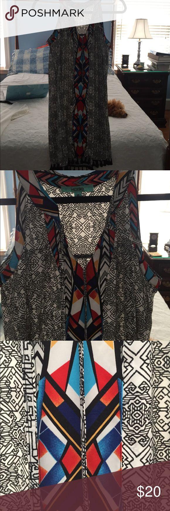 Karlie Aztec Fringe Dress The most darling dress for any occasion! karlie Dresses Mini