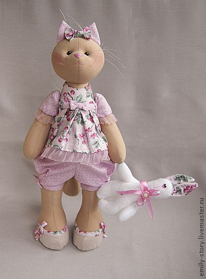 Toy animals, handmade. Fair Masters - handmade Molly. Handmade.