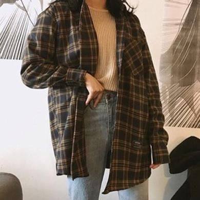 Plaid Cute Shirt