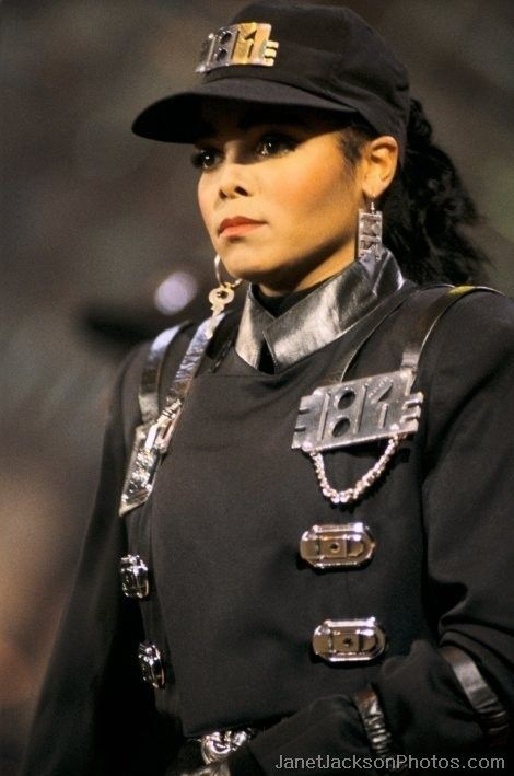 """Janet Jackson Military Uniform"" its been 25 years since Rythym Nation... just FYI... Only A true Janet fan knows this... That's Me Cil!!!"