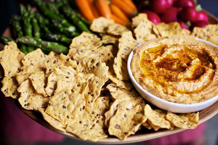 Savory Sweet Potato Hummus: So good, we won't judge if you double dip!