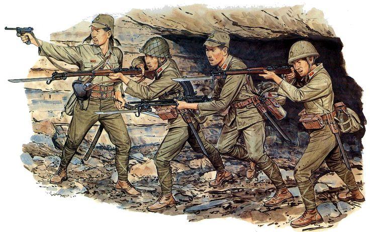 1945 Esercito Imperiale Nipponico - Fanteria ad Iwo Jima