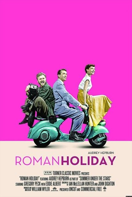 Audrey Hepburn  Gregory Peck in Roman Holiday (1953)