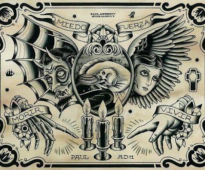 Tattoo Artist - Paul Anthony Dobleman @ Spider Murphys Tattoo
