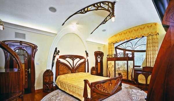 Art nouveau interior design interior decorating ideas - Modern art nouveau architecture ...