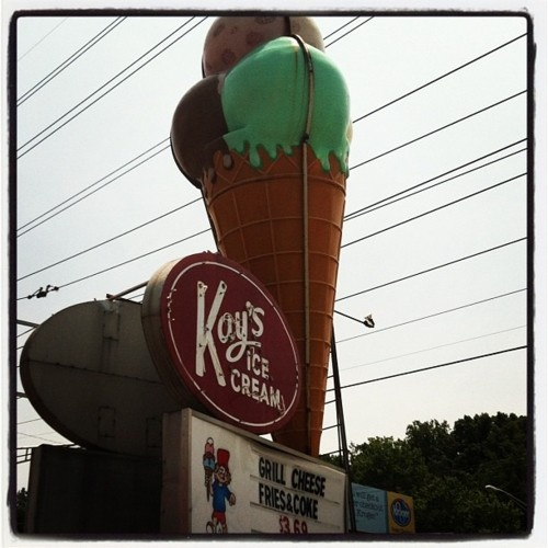 Kay's Ice Cream, Knoxville, Tennessee