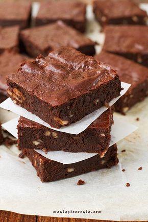 Zdrowe brownie (bez glutenu, cukru i laktozy) Brownie (gluten, sugar and lactose FREE)