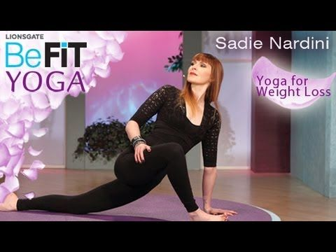 Yoga for Weight Loss- BeFit Yoga with Sadie Nardini is an intense, fat-burning Yoga series that is designed to rev-up the metabolism, strengthen the core, slim the waistline, and sculpt lean muscle through a flowing combination of calorie-torching poses. Drop excess weight and tone the abs, hips, legs, arms, chest and butt as Expert Instructor, ...