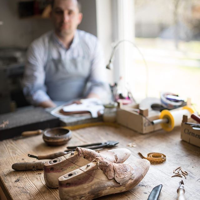 """There is an old saying which says """"The shoemaker should stay at the last."""" Luckily I did and I'm grateful for All who supported me on this route.. 🙏 ------------------------------------------- #fabulashoes #fabula_bespoke_shoes #shoeworkshop #bespoke #bespokemakers #bespokeandfor #leathercraft #handmadeshoes #artisian #handcraft #handwelted #handweltedshoes #madetomeasure #madetoorder #gentlemen #handcraft"""