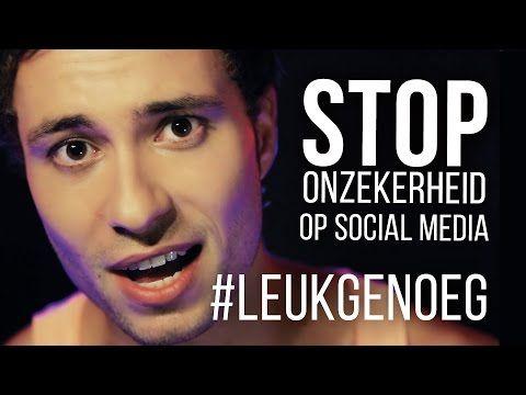 ▶ #LeukGenoeg - Stop onzekerheid op social media - YouTube Goed als gespreksstarter! (via Social Media Wijs)