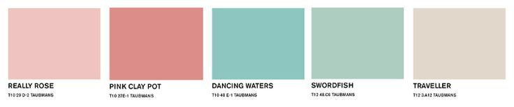 5 Spring Paint Colours to use this Spring. Pastels are in! Taubmans Spring Inspiration.