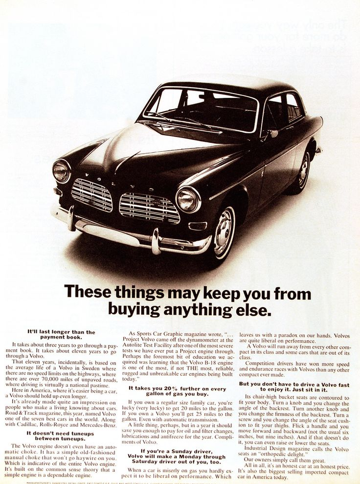 Ad for 1967 Volvo...Please save this pin.  Because for vintage collectibles - Click on the following link!.. http://www.ebay.com/usr/prestige_online