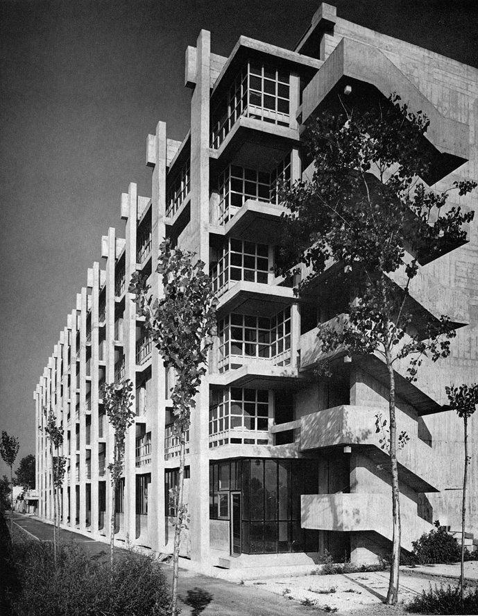 Istituto Marchiondi, Milano, Italy. Architect Vittoriano Viganò, 1953-1957…