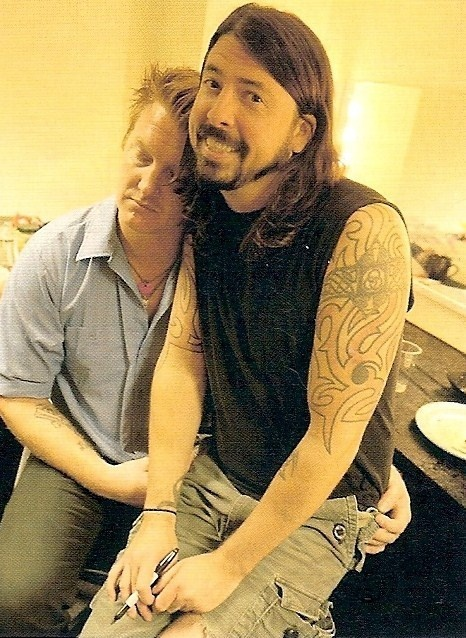 josh homme & Dave Grohl