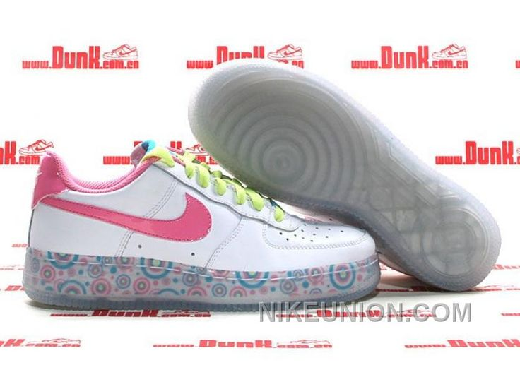 http://www.nikeunion.com/nike-air-force-1-low-white-pink-green-blue-cheap-to-buy.html NIKE AIR FORCE 1 LOW WHITE PINK GREEN BLUE CHEAP TO BUY Only $58.17 , Free Shipping!