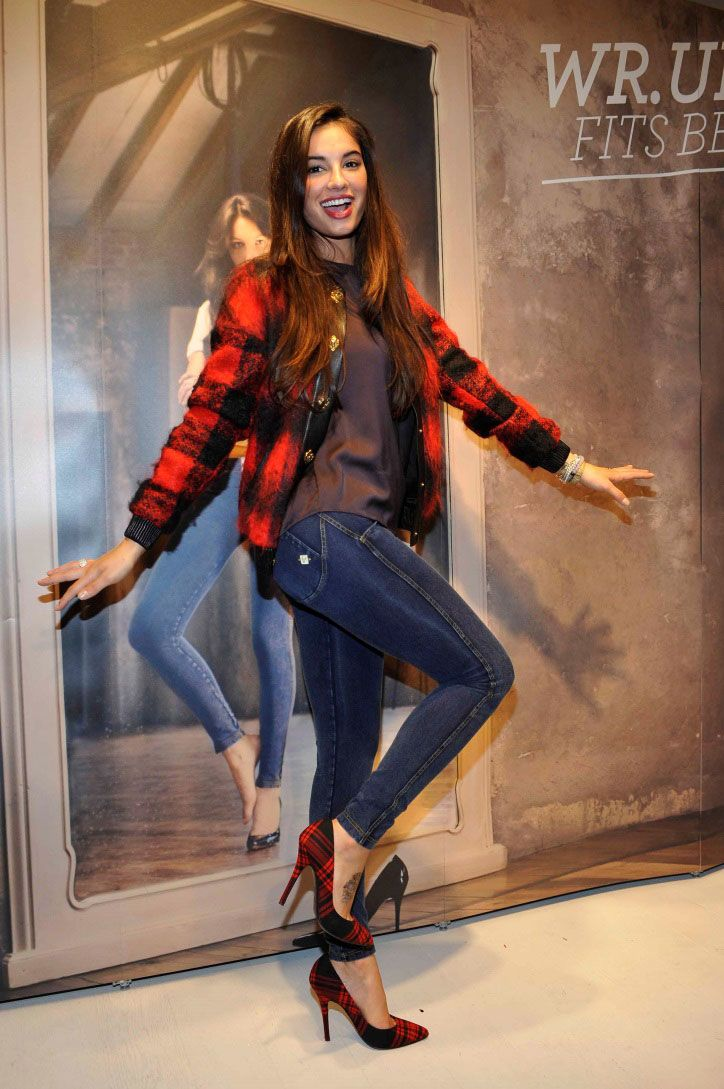 Francesca Chillemi at WR.UP® Denim official launch in Milano c/o Freddy Store.