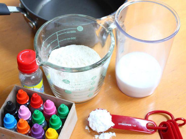 Receta para preparar plastilina casera - BabyCenter
