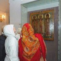 """Выставка одного шедевра """"Икона """"Креститель Руси Великий князь Владимир"""""""