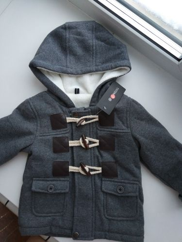 f3ae23e37 Hooded Baby Boys Winter Coat