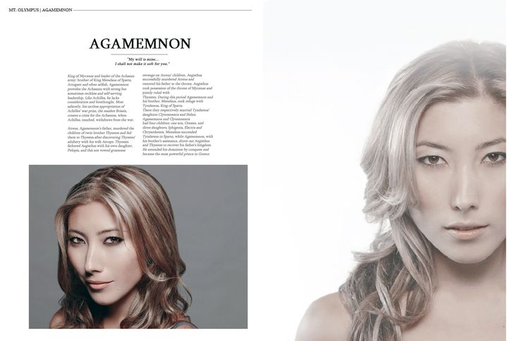 Everyone is a Lady: Trojan War Edition (The Olympians pt. 1)  ∟ Dichen Lachman as Agamemnon