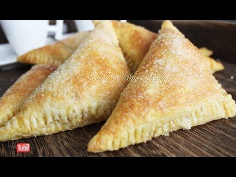 Delicous Easy Apple Turnovers Recipe ( Appelflappen ) - YouTube