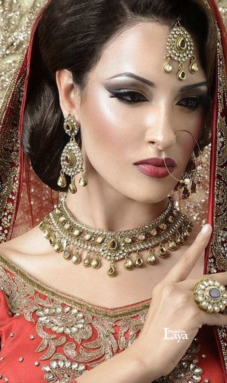 100 best indian brides images on pinterest | indian bridal jewelry