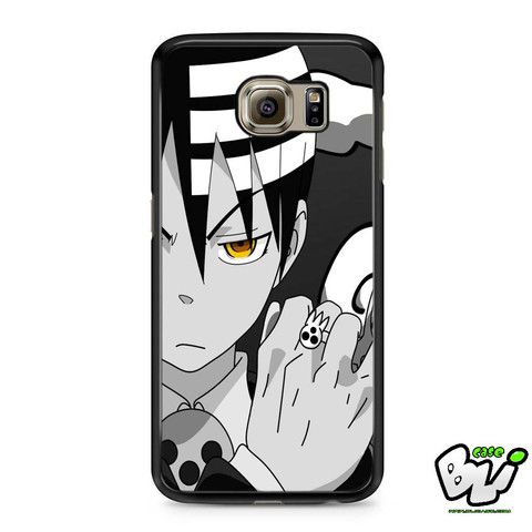 Black White Soul Eater Dead The Kid Samsung Galaxy S6 Case