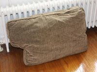Cleaning upholstery can be easily done at home with a few simple steps and a homemade upholstery cleaner.