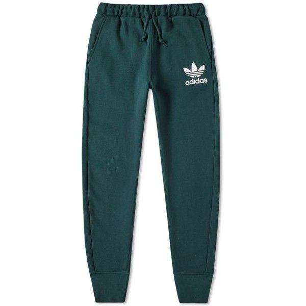 Adidas ADC Fashion Sweatpant (€210) ❤ liked on Polyvore featuring activewear, activewear pants, adidas, adidas sportswear, adidas activewear, sweat pants and blue sweat pants