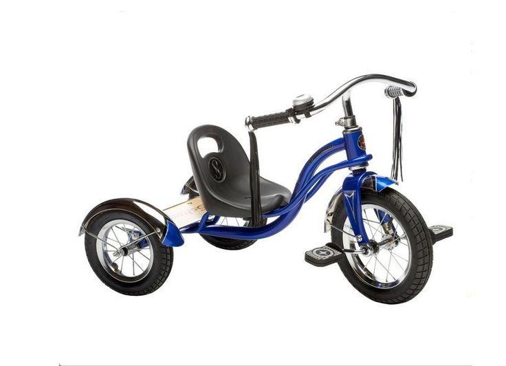 "Schwinn Roadster Kids 3 Wheeler/Trike Tricycle 12"" (Blue) Strong Quality New 3+  #Schwinn"