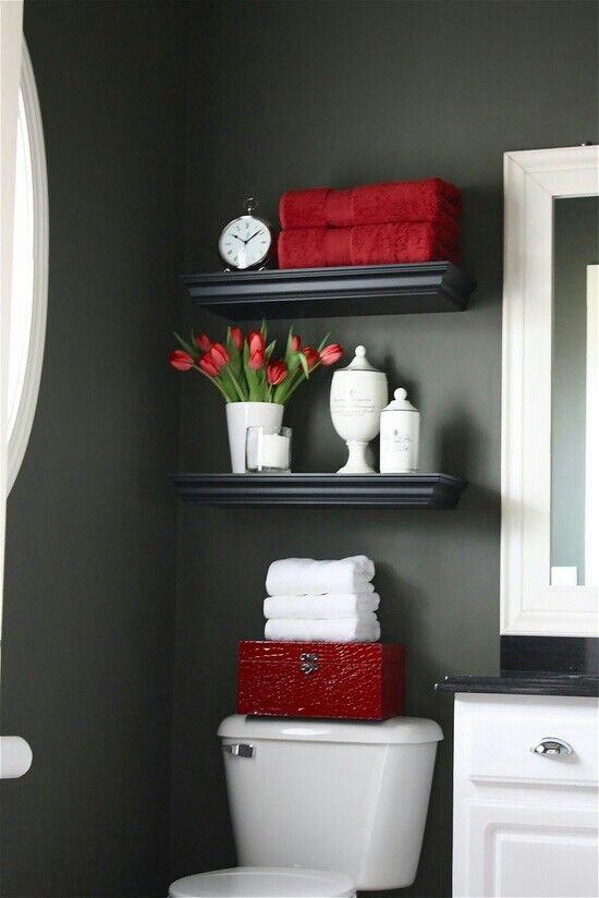 Con pequeños detalles en color lograrás que la decoración de tu baño resalte aún más. #Decoracion #Diseño #Hazloportimisma