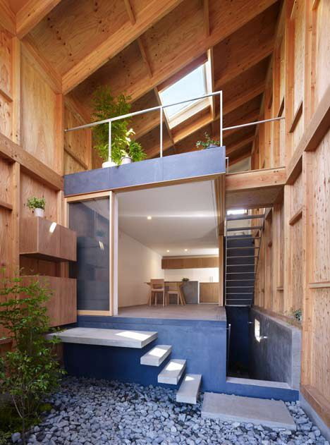 This inside out house by Japanese architecture firm Suppose Design Office has an unusual design that turns architecture on its head.