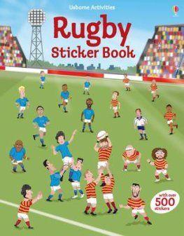 Rugby Sticker Book.