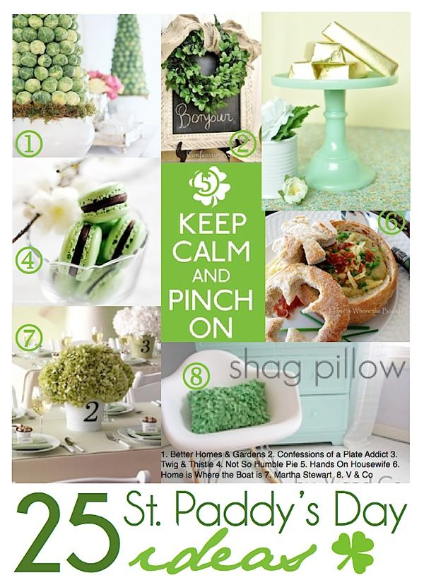 25 St. Paddy's Day Ideas featured at I Gotta Create! | #StPatrick