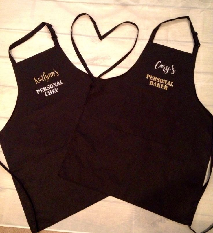 Custom aprons-personalized aprons-couples aprons-wedding gift-gift for chef-gift for baker-gift for couples-newlyweds gift-anniversary gift- by KikayKreations on Etsy https://www.etsy.com/listing/545643546/custom-aprons-personalized-aprons