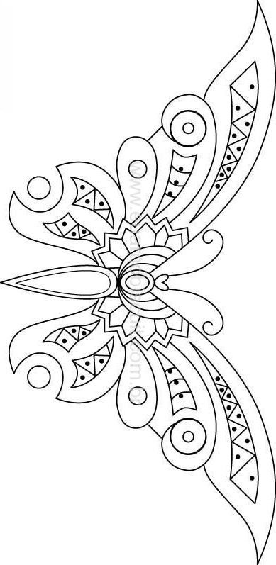 Embroidery Patterns Butterfly