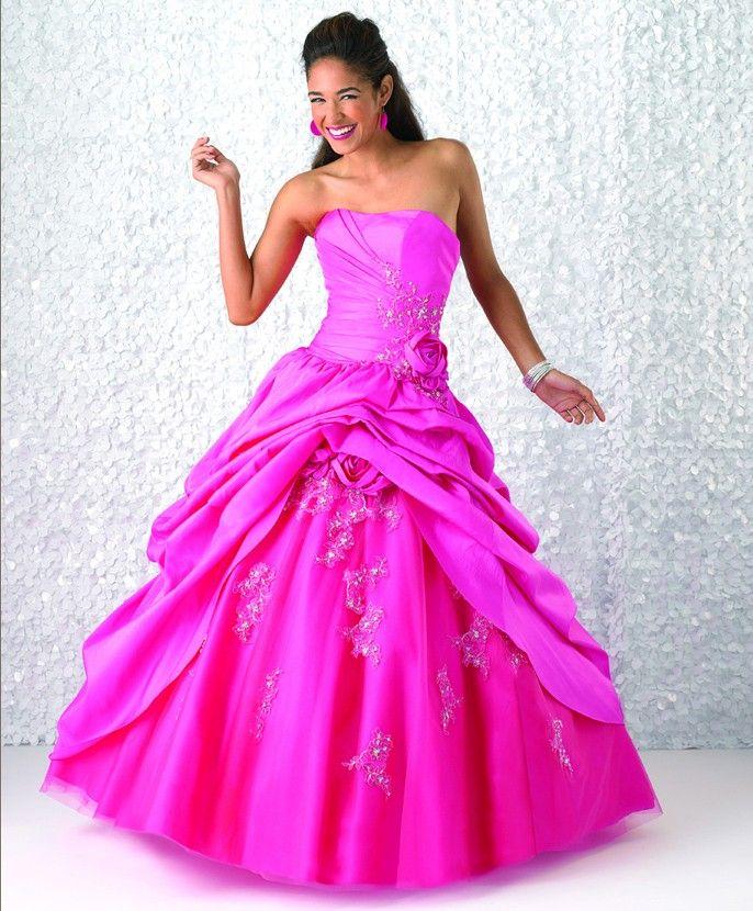 53 best Quinceanera Dresses images on Pinterest | Vestido de baile ...