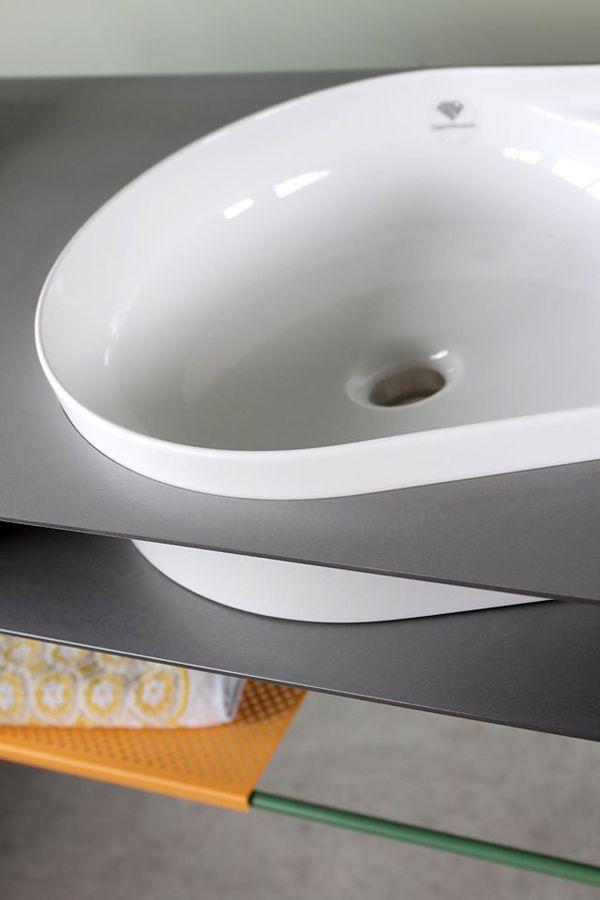 SCHWEIßDRAHT Werkstatt - Design und Handwerk - Konzept, Entwurf, Ausführung - Badmöbel - Waschtisch - Einrichtung Bad - Industrial - Minimalistisch - neu