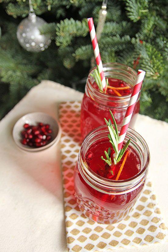 rosemary sparkler - Stir up a pomegranate rosemary sparkler ...