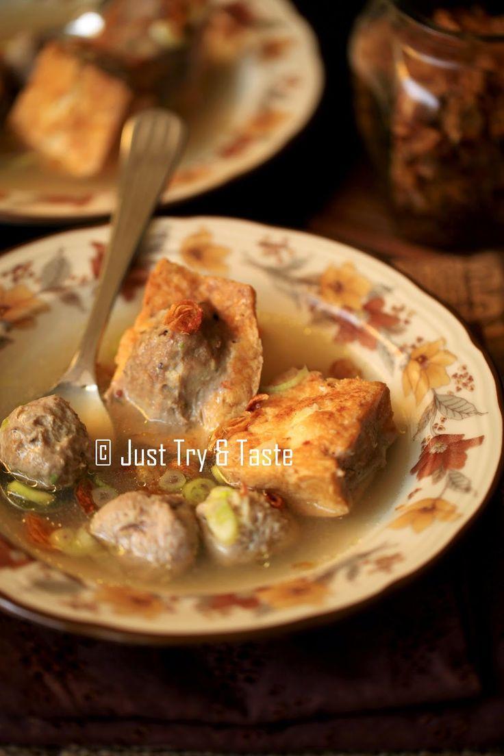 Just Try & Taste: Tahu Bakso Spesial