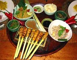 Balinese Food: Sate Lilit, Lawar, Betutu.... yummy! I heart Bali!!