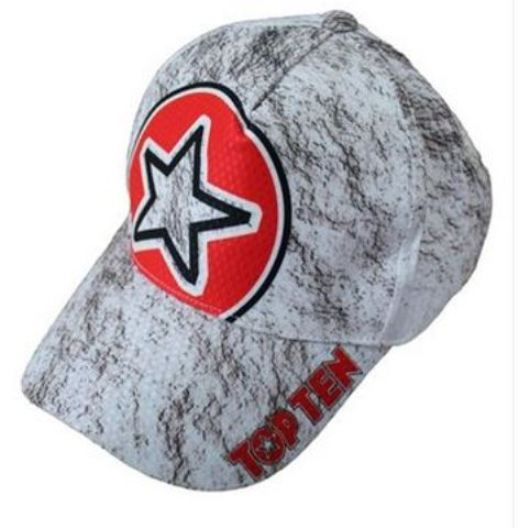 TopTen MMA and boxing baseball hat - White