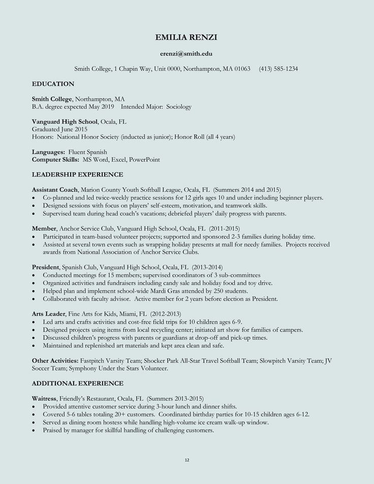 Resume For Kids 10 Best Exploring Careers Images On Pinterest  Career Advice .