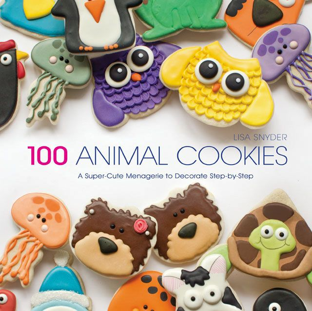 100 Animal Cookies Book - by thebearfootbaker.com |  Available for pre-order now!