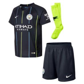 0ed355c827f6e Camiseta Manchester City 2ª Equipación 2018 2019 Niños Kits (Con Medias)